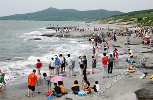 觉华岛海滨